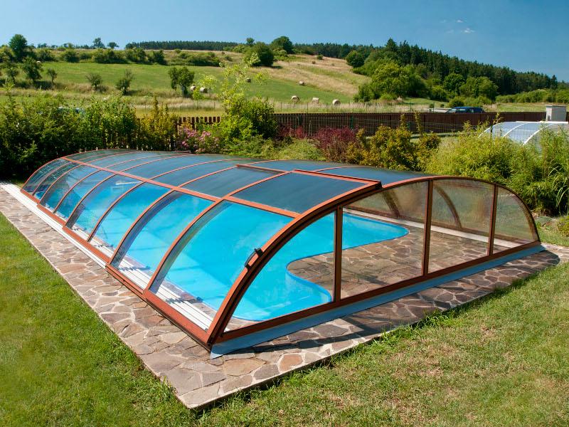 Образцы павильонов для бассейна